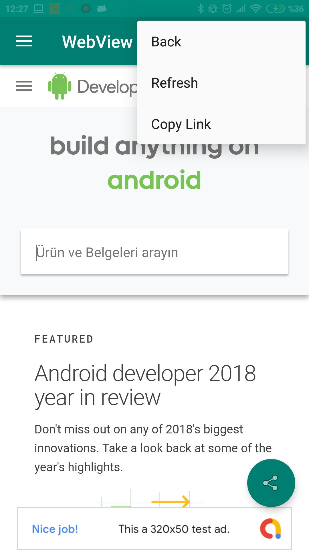 Advanced Android WebView App Screenshot 5