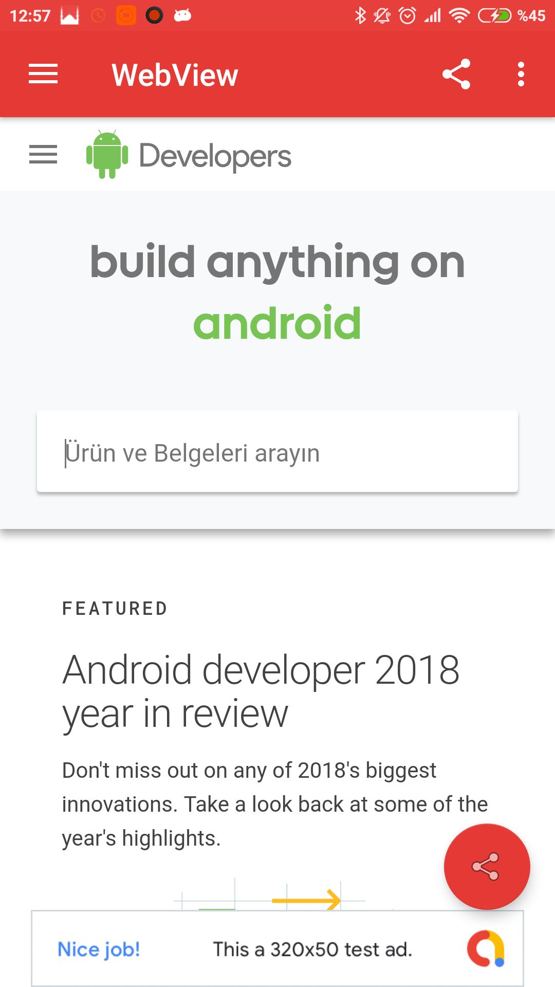 Advanced Android WebView App Screenshot 8