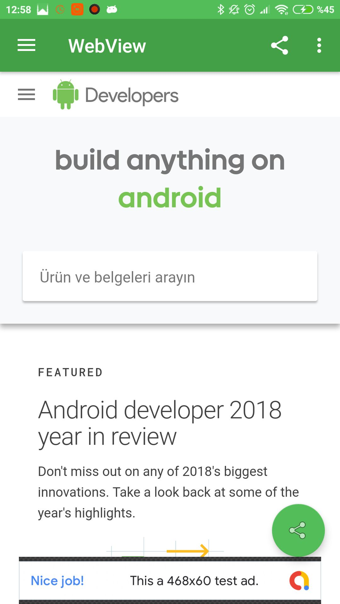 Advanced Android WebView App Screenshot 9