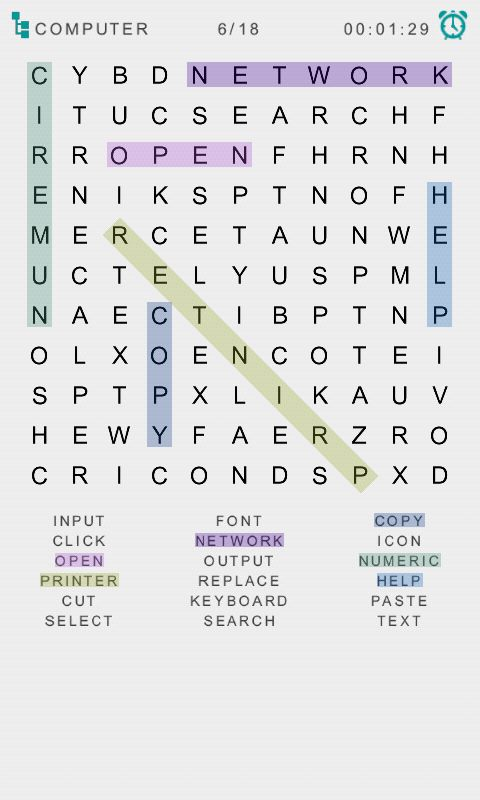 Word Search Game - Android Source Code Screenshot 2
