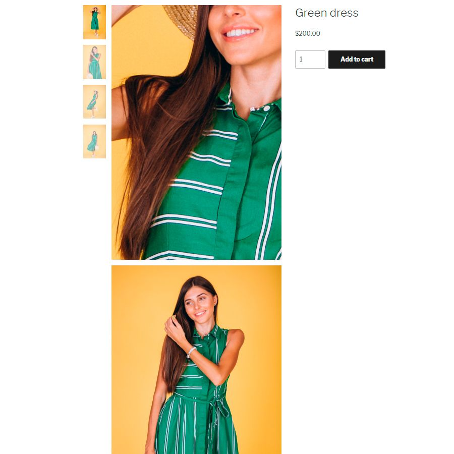 Unrolled WooCommerce Product Gallery Screenshot 4