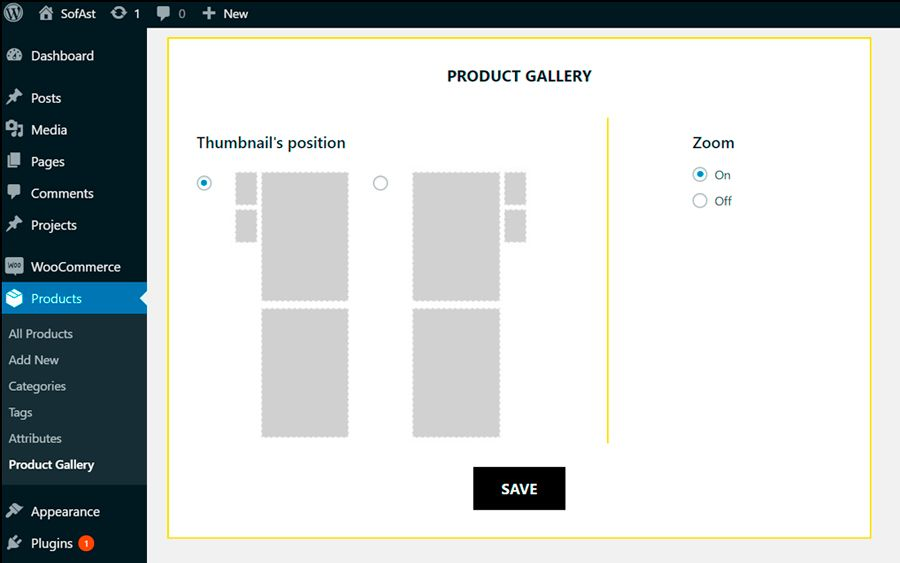 Unrolled WooCommerce Product Gallery Screenshot 5