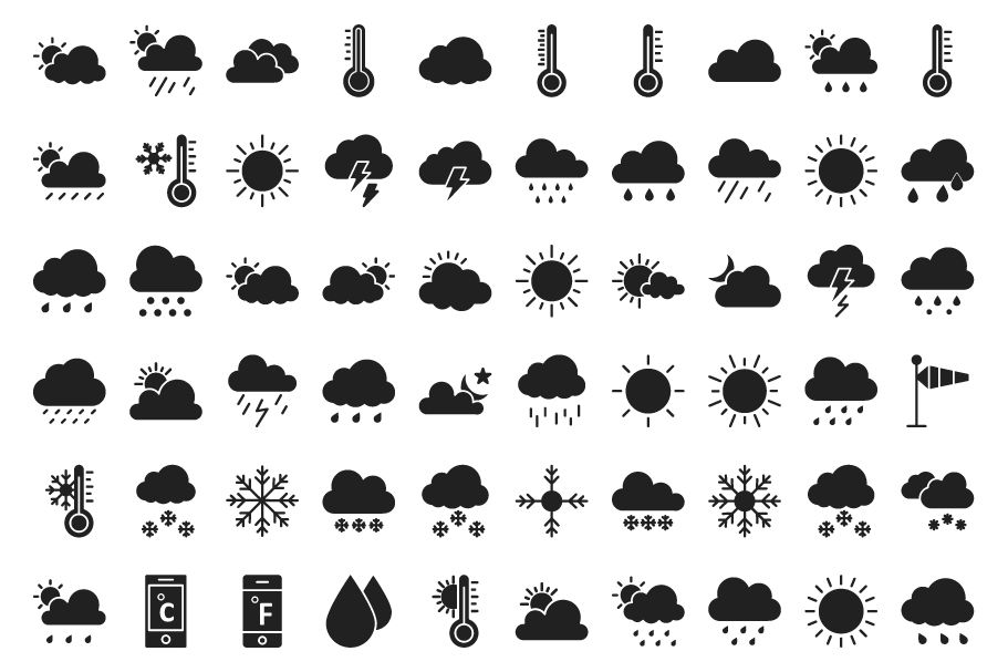 440 Weather Vector Icons Pack  Screenshot 4