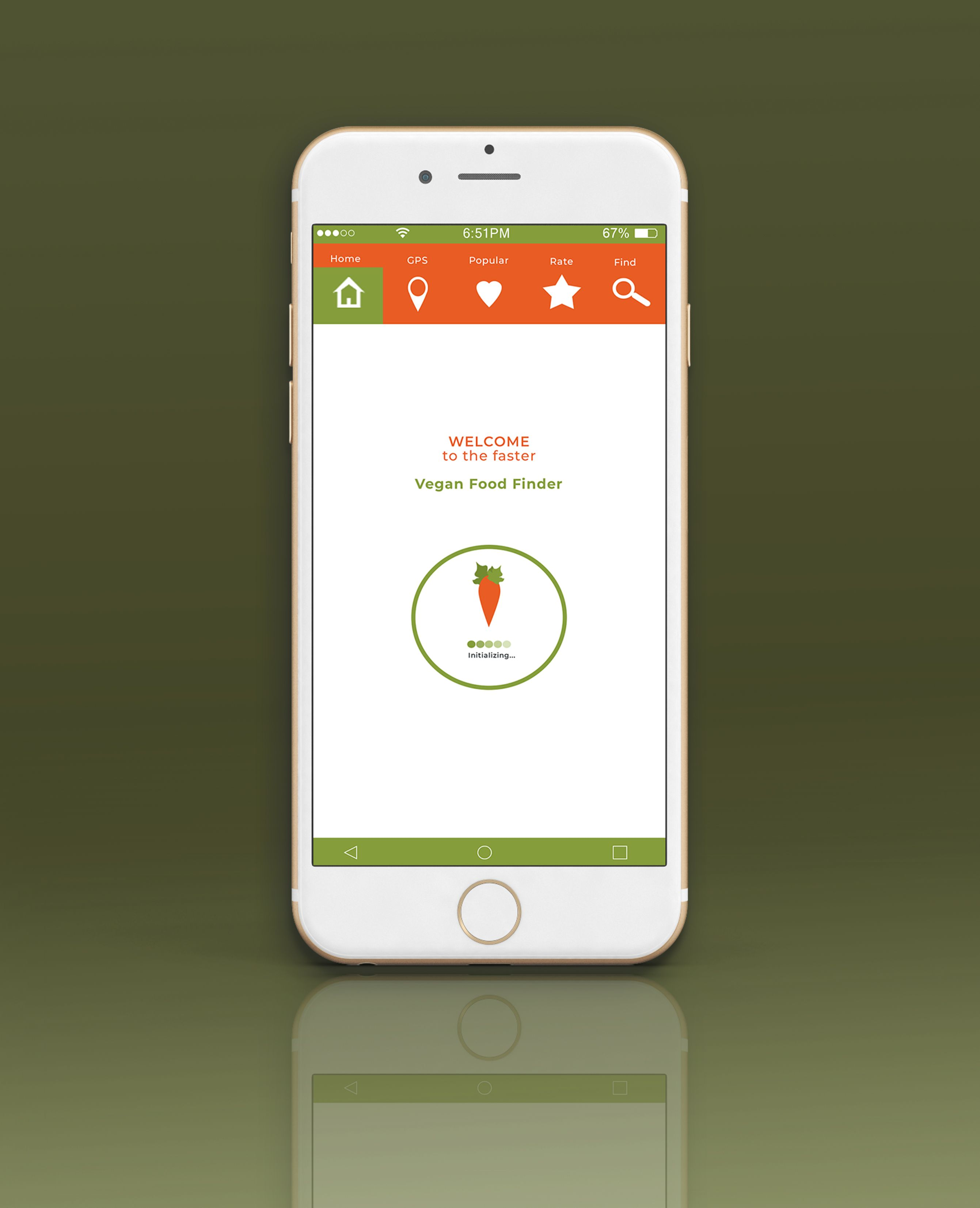 Mobile Vegan Food Finder App - 6  PSD Templates  Screenshot 7