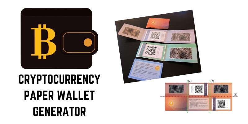All cryptocurrency paper wallet