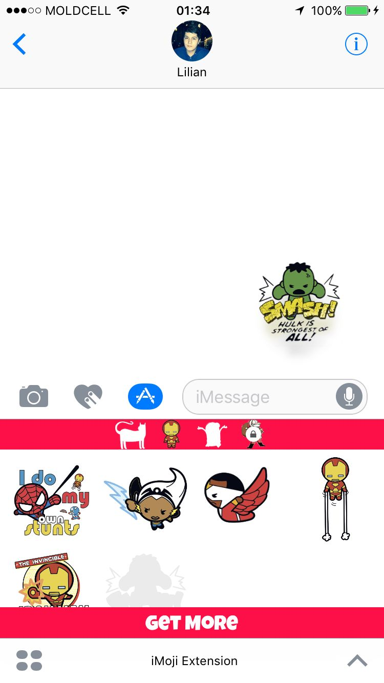 iMoji Stickers For iMessage - iOS Source Code Screenshot 6