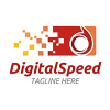 digital-speed-logo-template