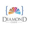 diamond-code-logo-template