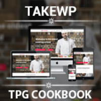 TPG Cookbook Kitchen WordPress theme