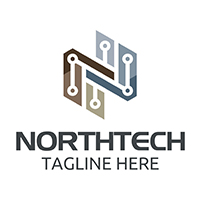 North Tech - Logo Template