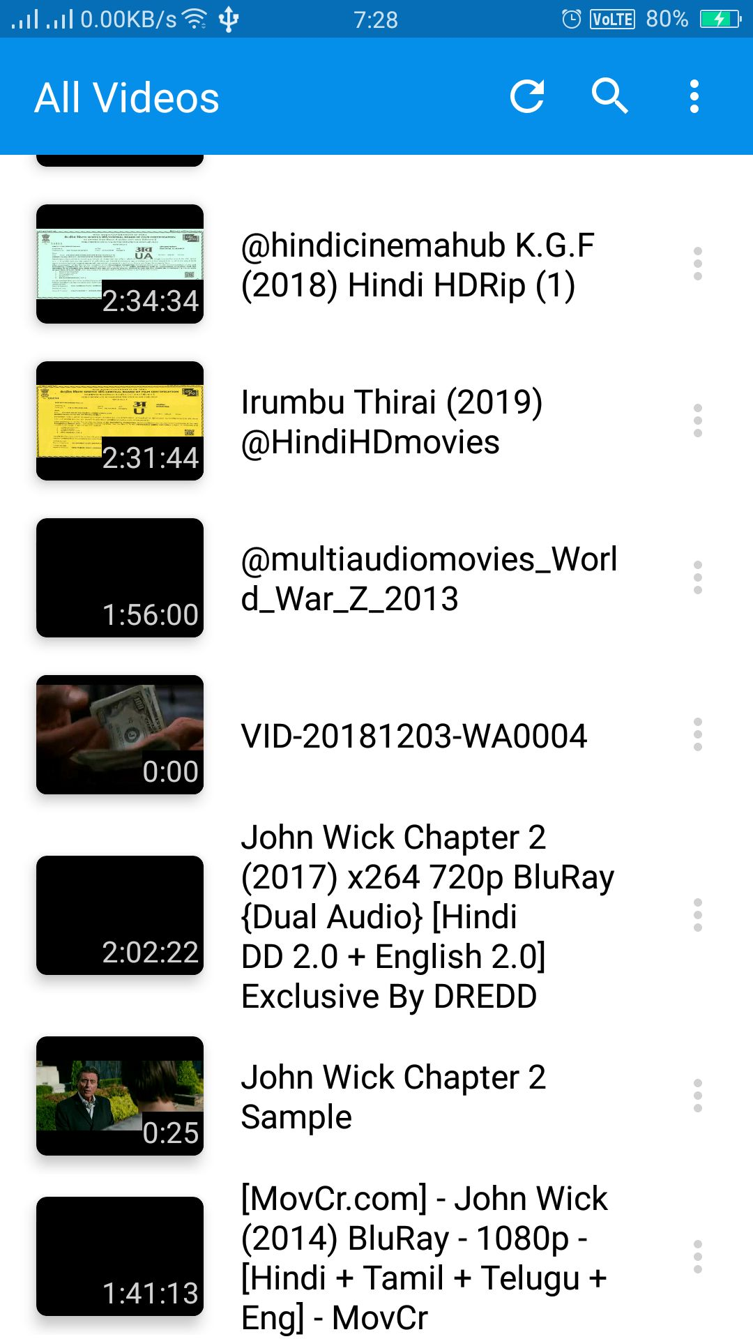 Video Player Android App Source Code Screenshot 5