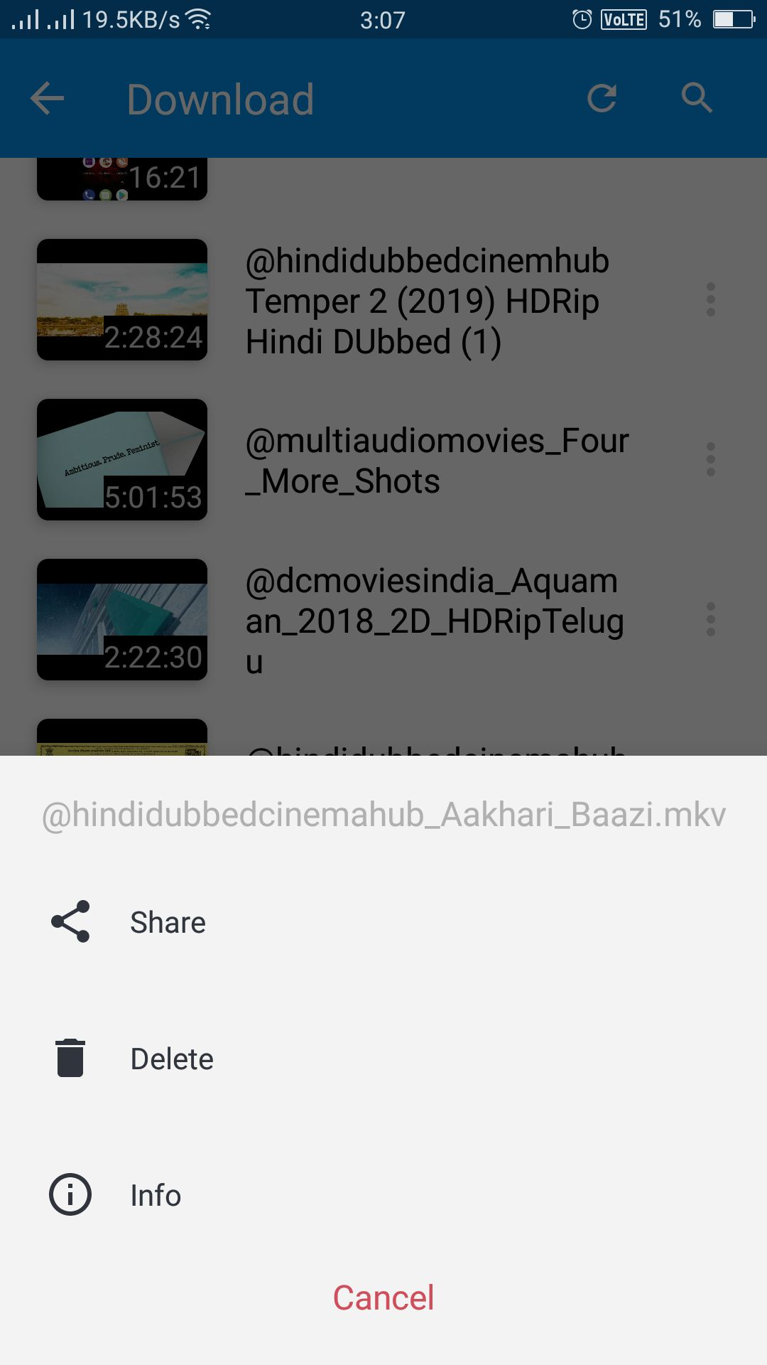 Video Player Android App Source Code Screenshot 10