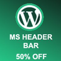 MS Header Bar - WordPress Plugin