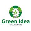 green-idea-logo-template