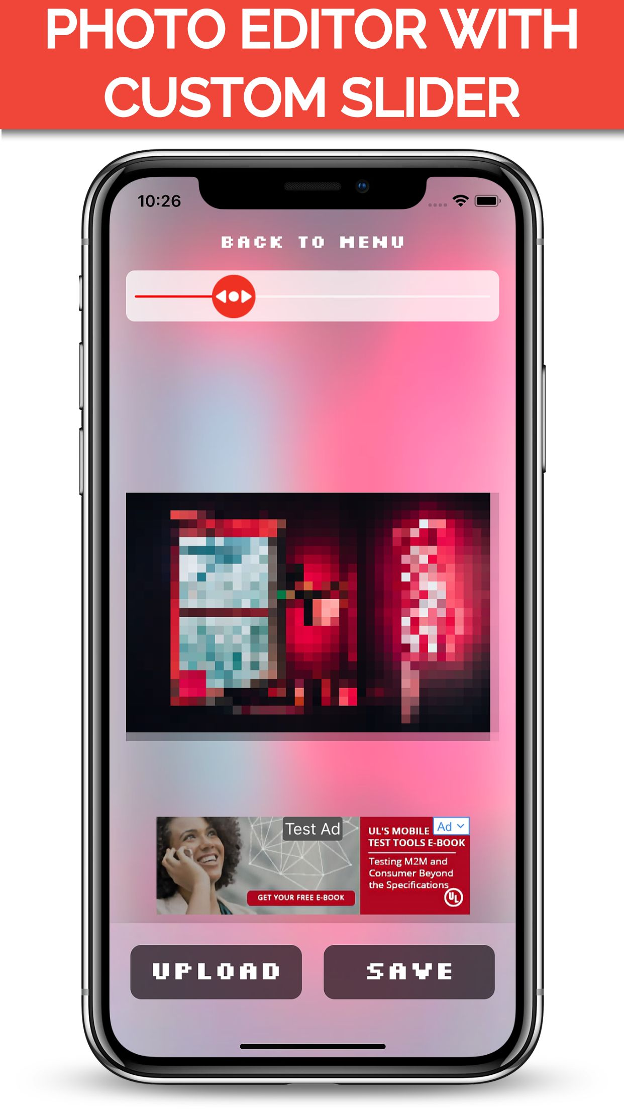 Photo Pixelizer iOS Application Source Code