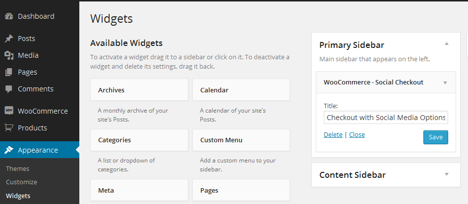 WooCommerce Social Login Extension Screenshot 2