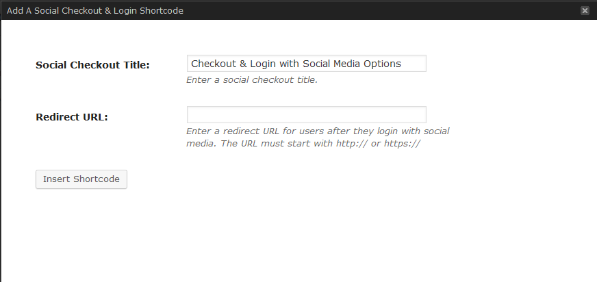WooCommerce Social Login Extension Screenshot 5