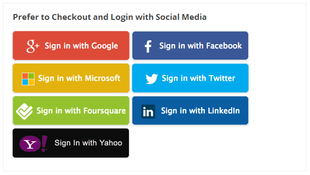 WooCommerce Social Login Extension Screenshot 6