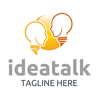 Idea Talk - Logo Template