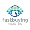 fast-buying-logo-template