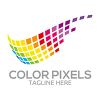 color-pixels-logo-template