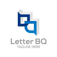 Letter BQ V1 - Logo Template
