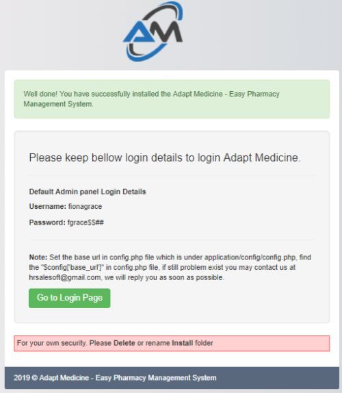 Adapt Medicine - Pharmacy Management System Screenshot 3