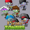 6- Pirates Zombie Character Sprites Set