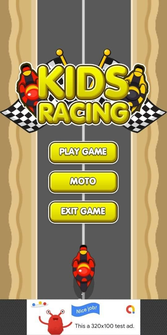 Kids Motor Racing LTS Unity Project Screenshot 1