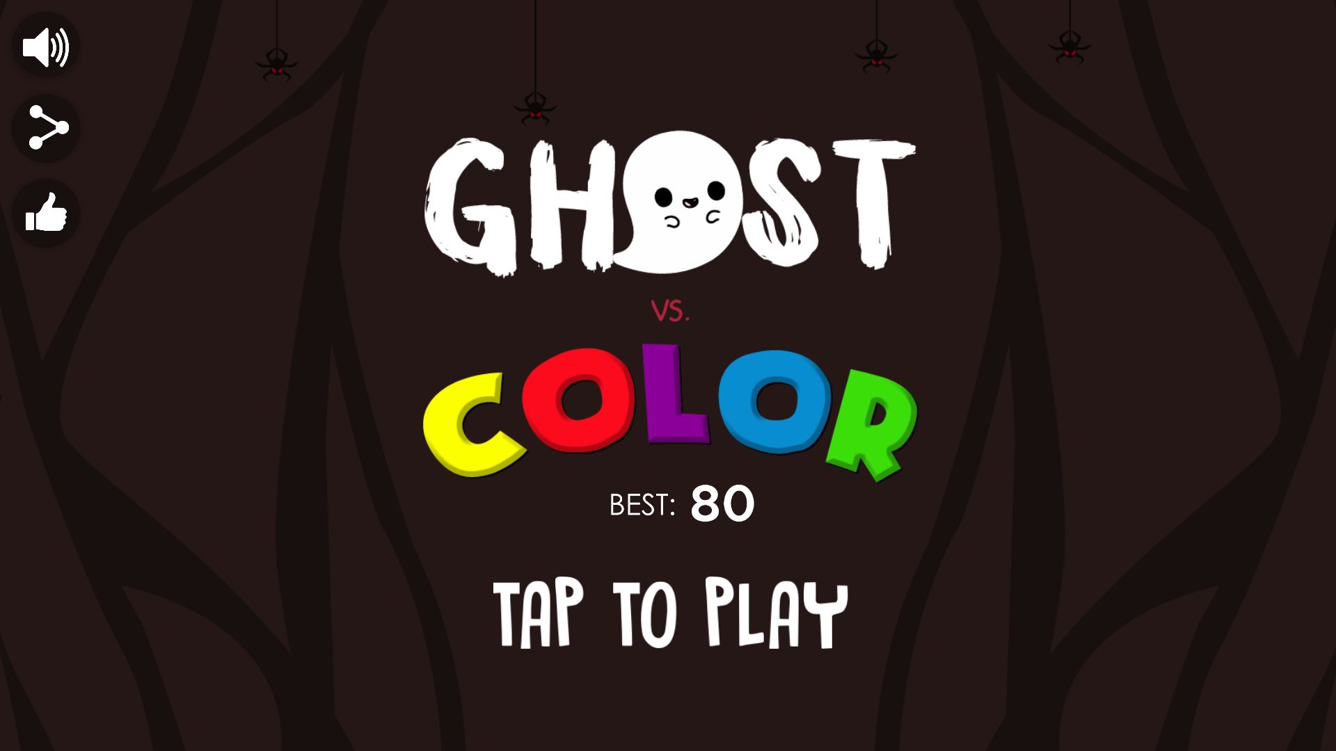 Ghost vs Color - Template Buildbox Screenshot 4