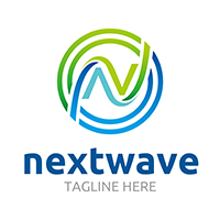 Next Wave V2 - Logo Template