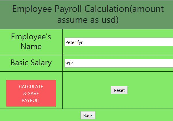 Result and Payslip PHP Scripts With Database Screenshot 7