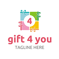 Gift 4 You - Logo Template