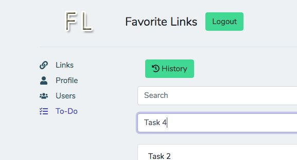 Favorite Links - PHP Script Screenshot 5