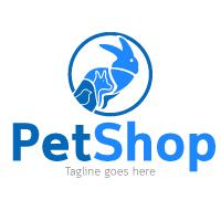PetShop Logo Template