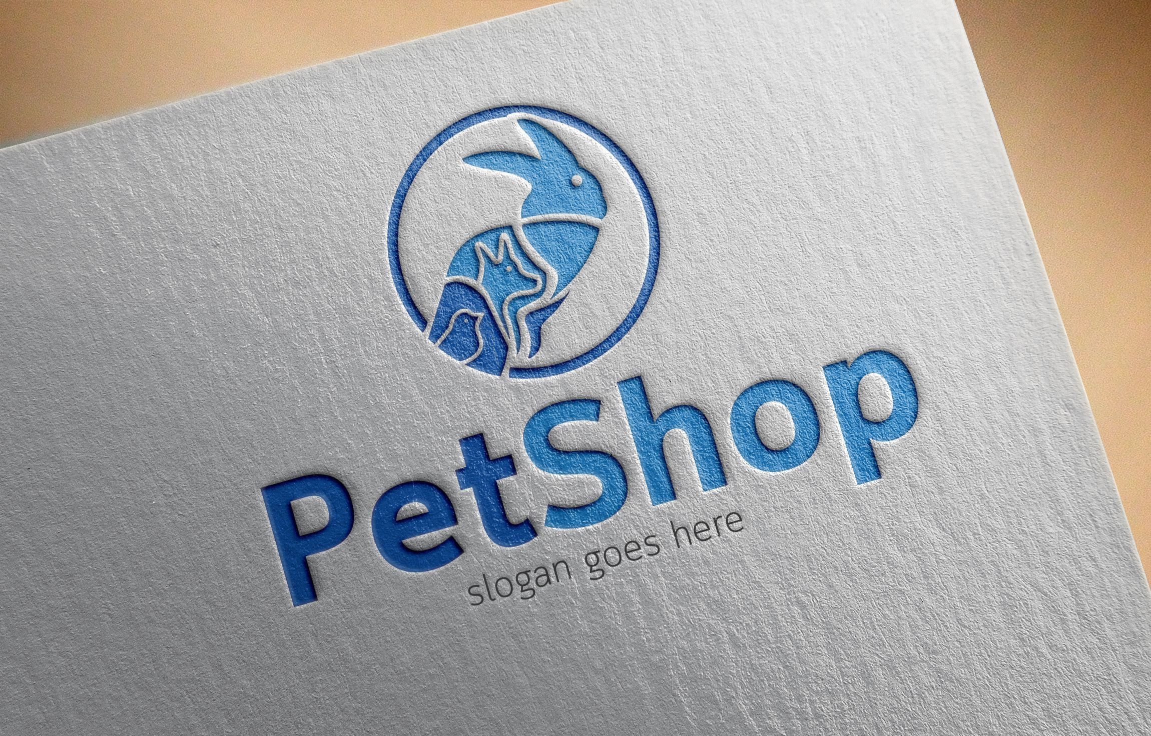 PetShop Logo Template Screenshot 1