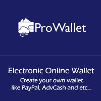 ProWallet - Electronic Online Wallet Script