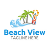 beach-logo-template