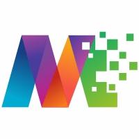 Mediapixel M Letter Logo