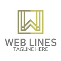 Web Lines - Logo Template