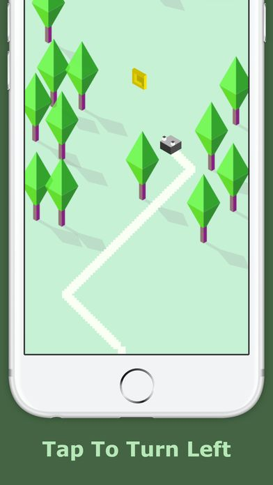 Zig Zag Zoe  - iOS Game Source Code Screenshot 4