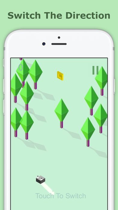 Zig Zag Zoe  - iOS Game Source Code Screenshot 5