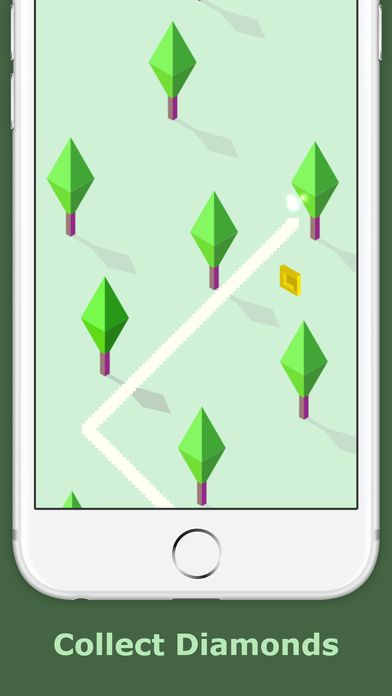 Zig Zag Zoe  - iOS Game Source Code Screenshot 6