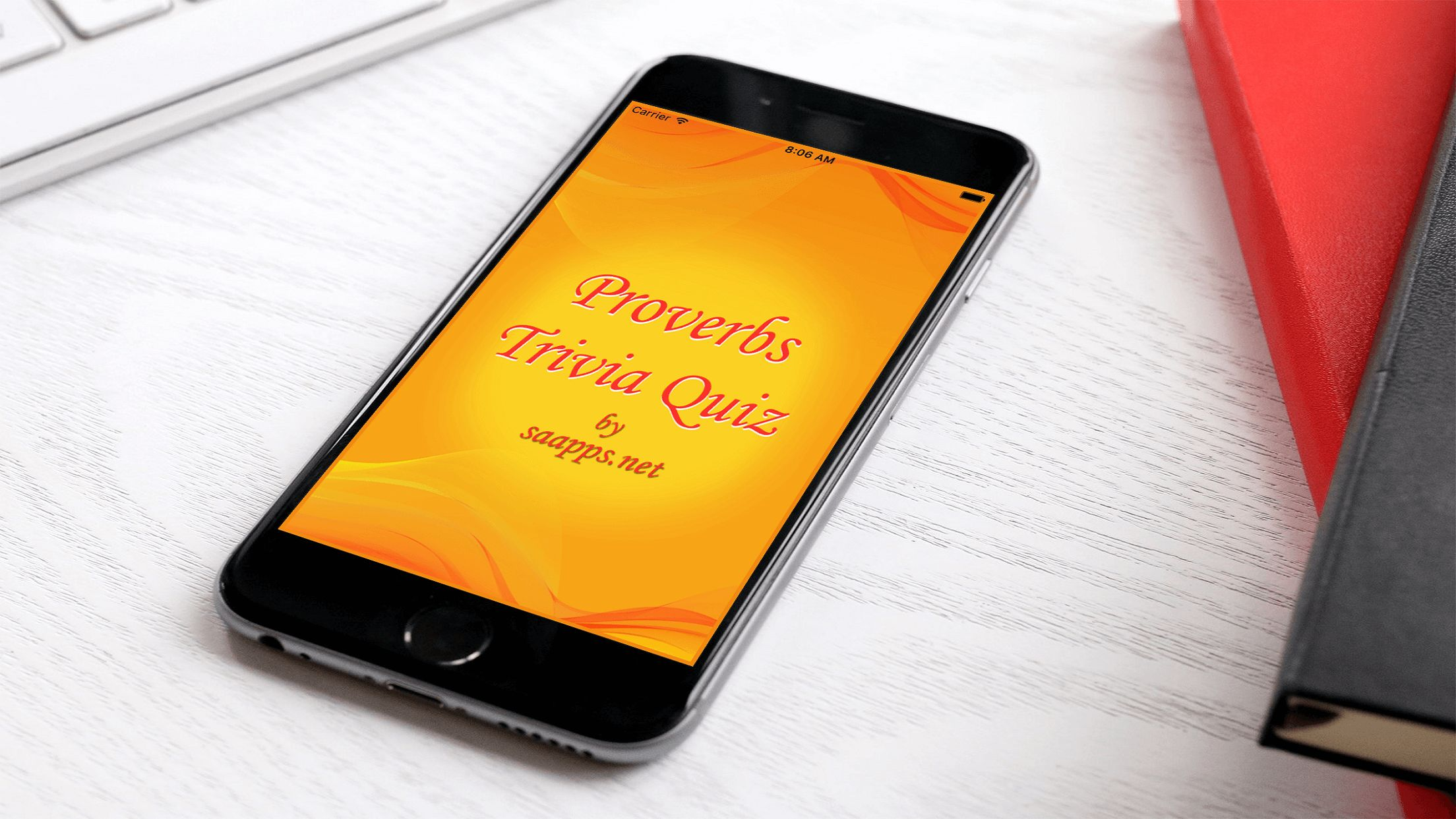 Proverbs Trivia Quiz - iOS Source Code Screenshot 9