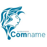 Clean Lion Professional Logo