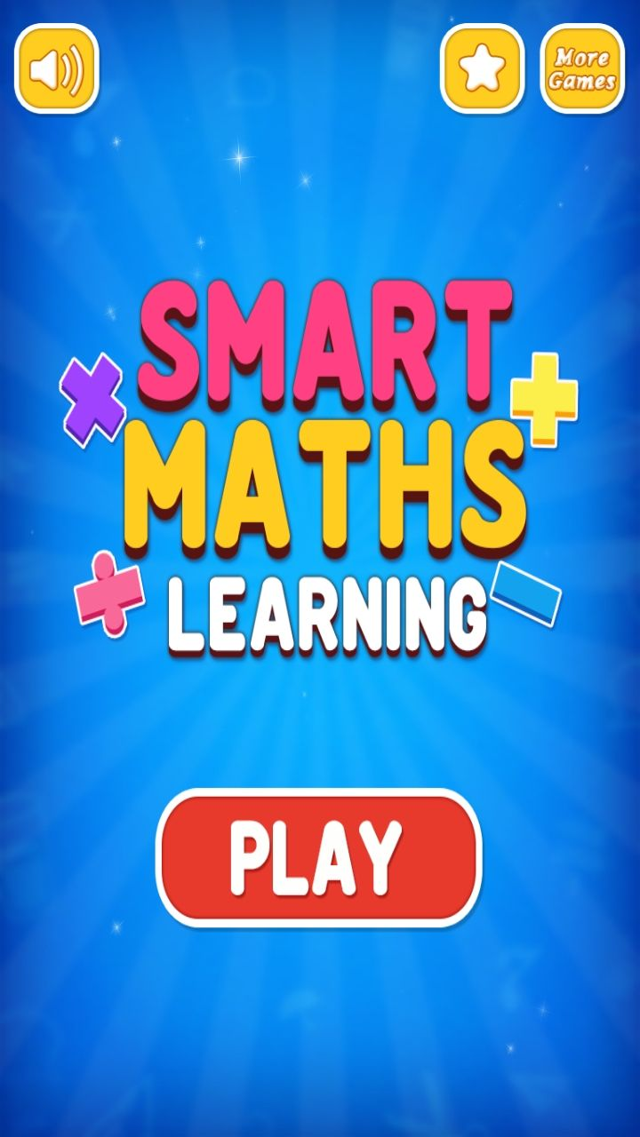 Smart Maths Learning Game - iOS Source Code Screenshot 1
