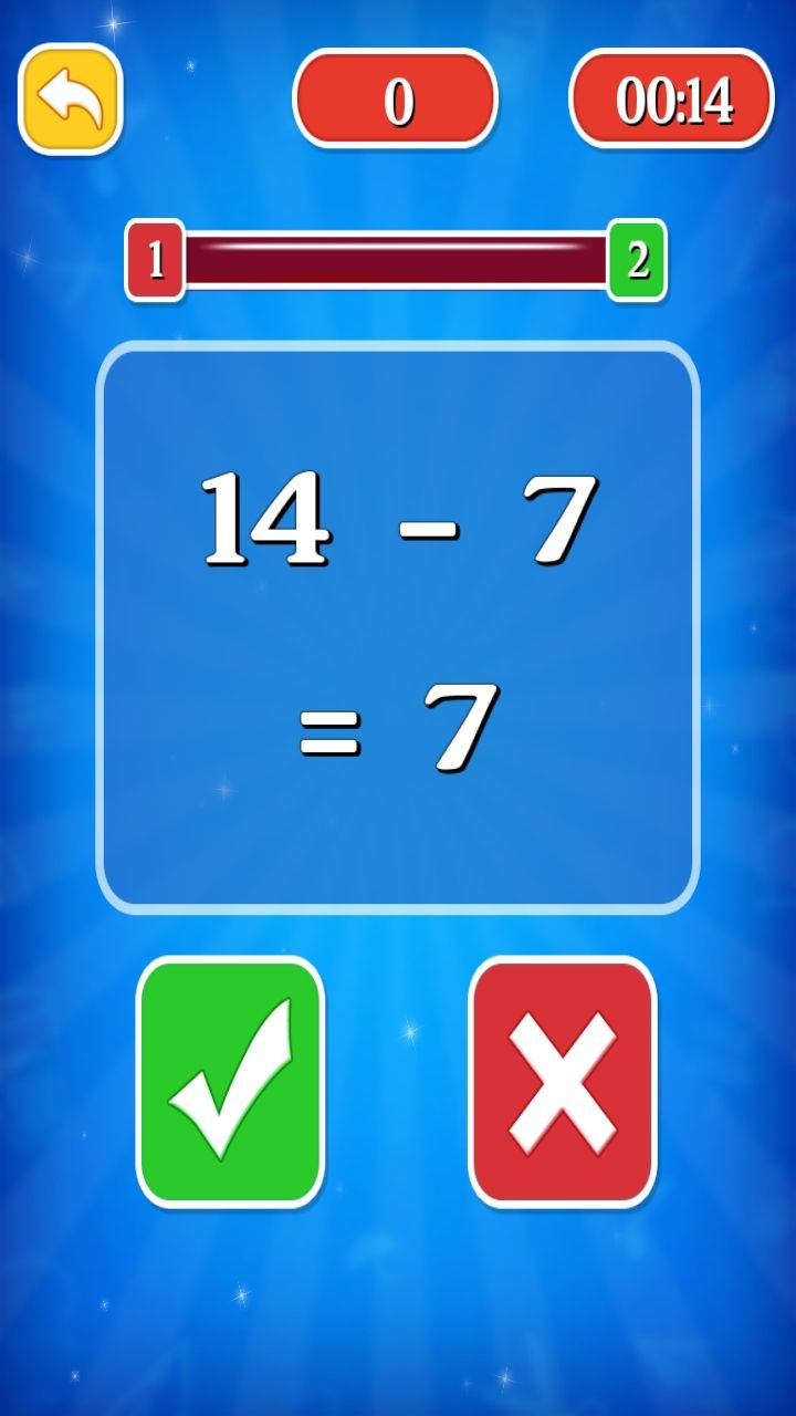 Smart Maths Learning Game - iOS Source Code Screenshot 4