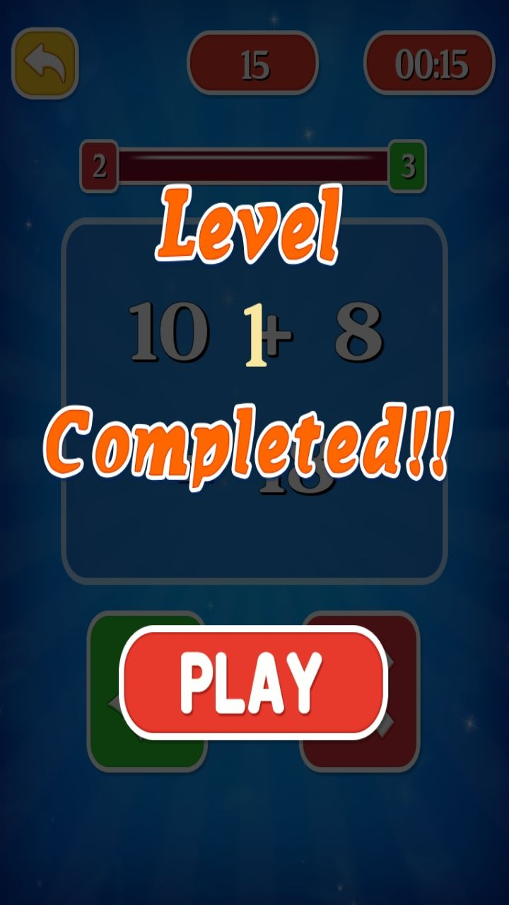 Smart Maths Learning Game - iOS Source Code Screenshot 5