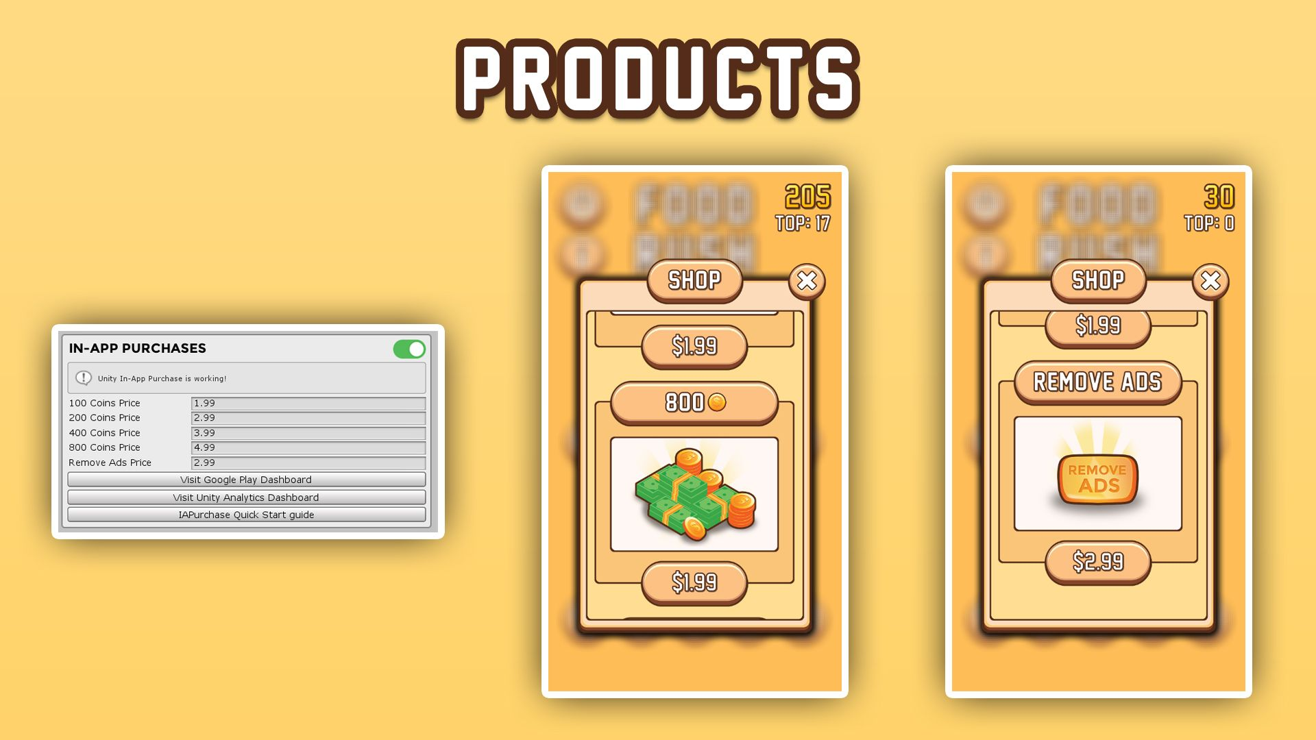 Food Rush - Complete Unity Project Screenshot 11