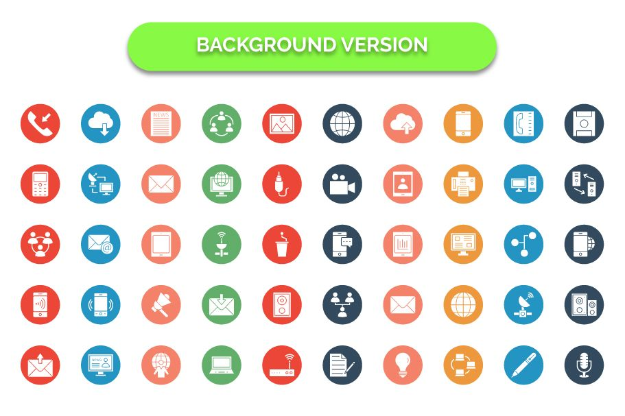 600 Communication Vector Icons Pack Screenshot 2